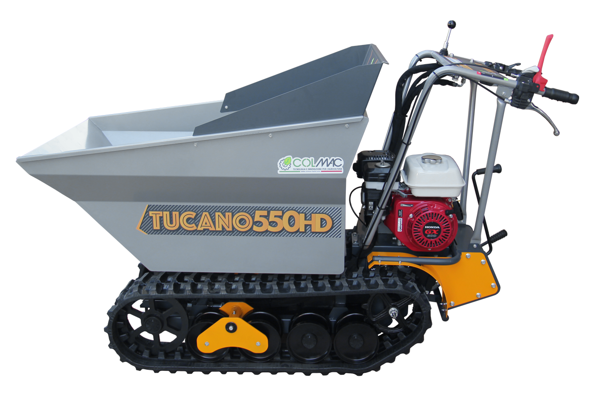 Motocarriola cingolata Tucano 550HD