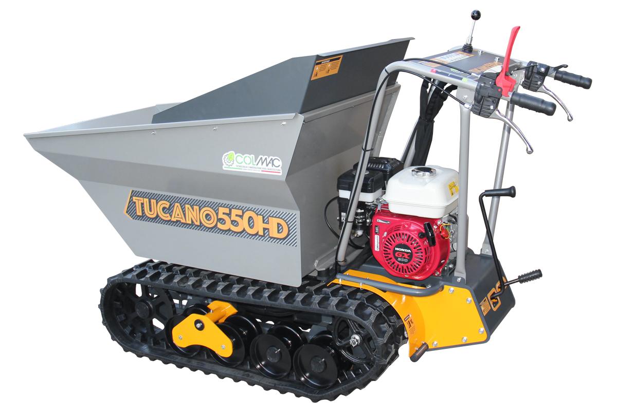 Motocarriola Tucano 550HD