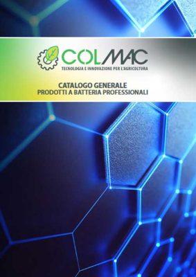 Catalogo Colmac - Articoli a batteria professionali 2021